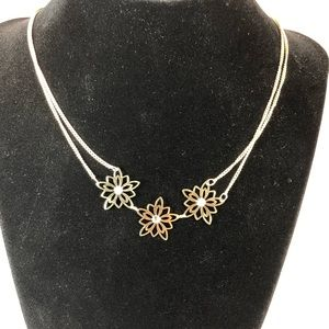 Star gold time necklace